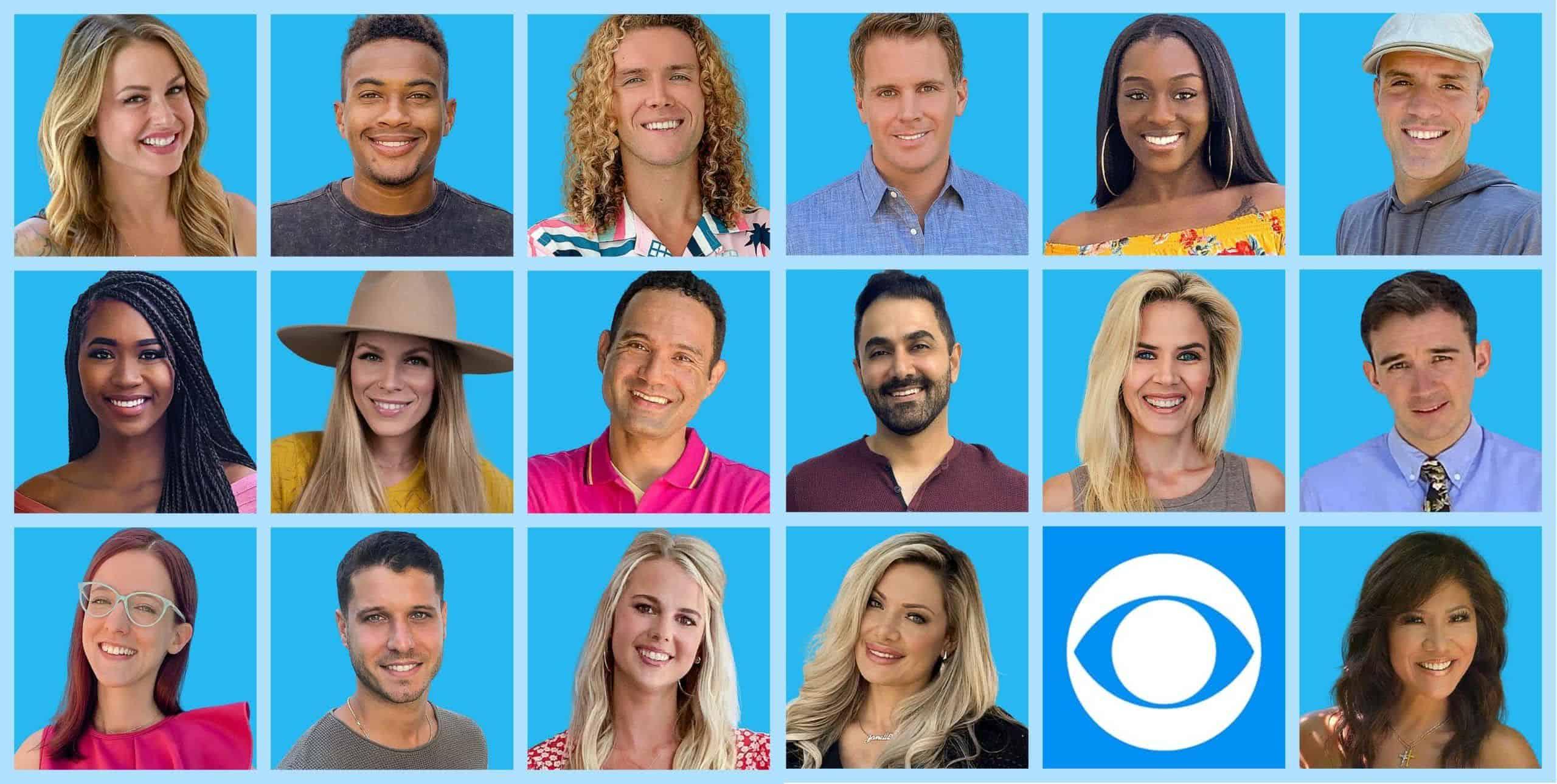 Elenco do Big Brother americano 2020
