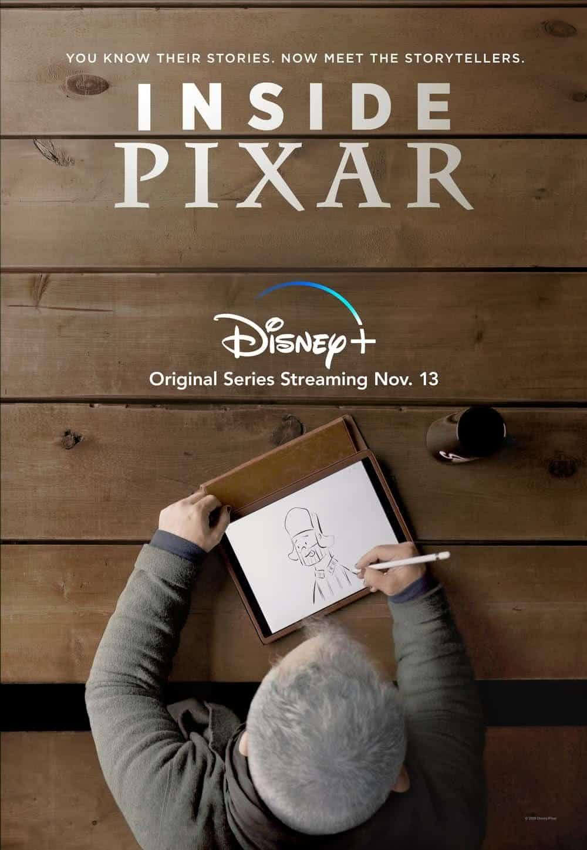 Cartaz de Inside Pixar (Divulgação / Disney)