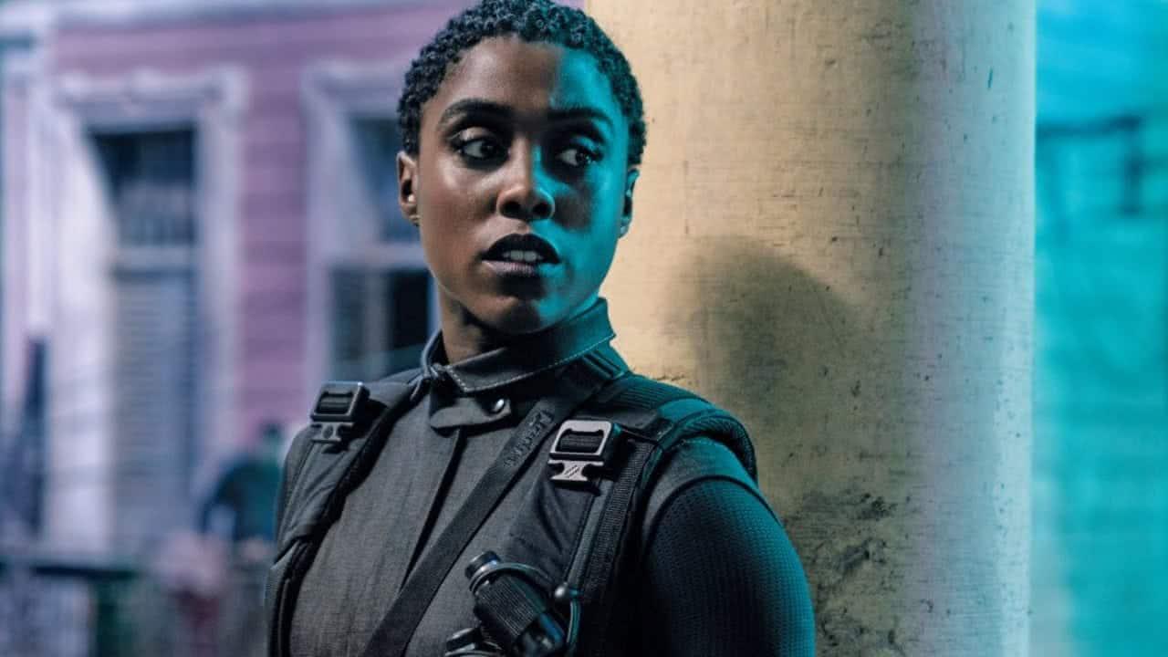 Lashana Lynch em 007 - Sem Tempo Para Morrer (Reprodução)