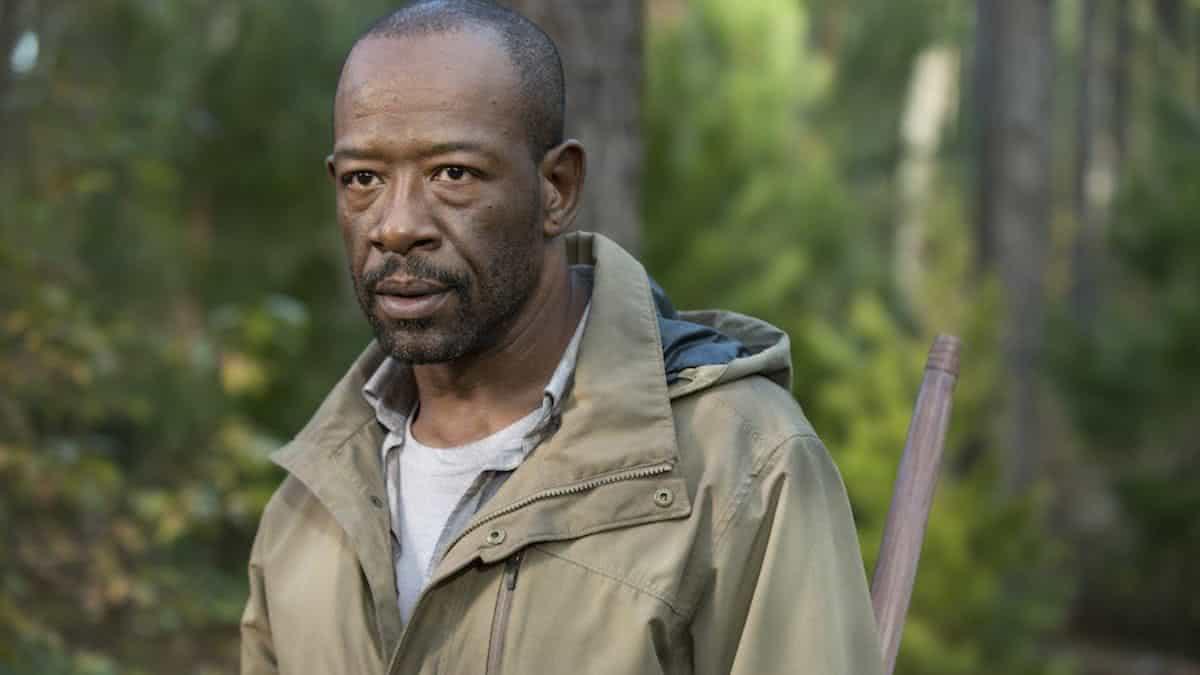 Lennie James como Morgan em The Walking Dead