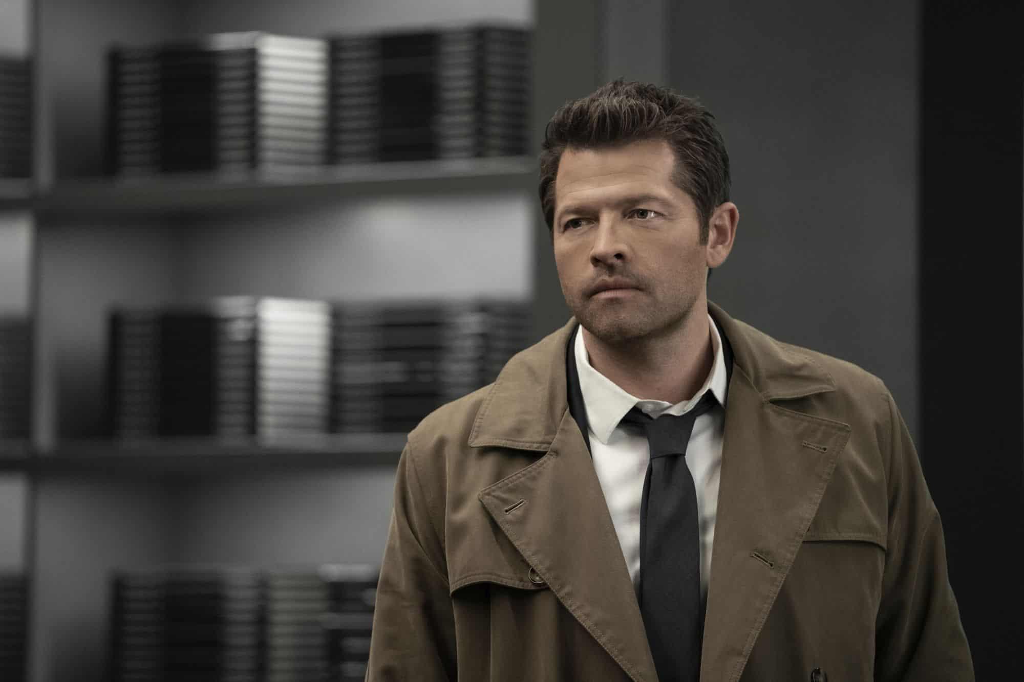 Misha Collins como Castiel em Supernatural