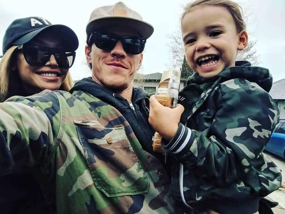 Naya Rivera, Ryan Dorsey e o filho Josey
