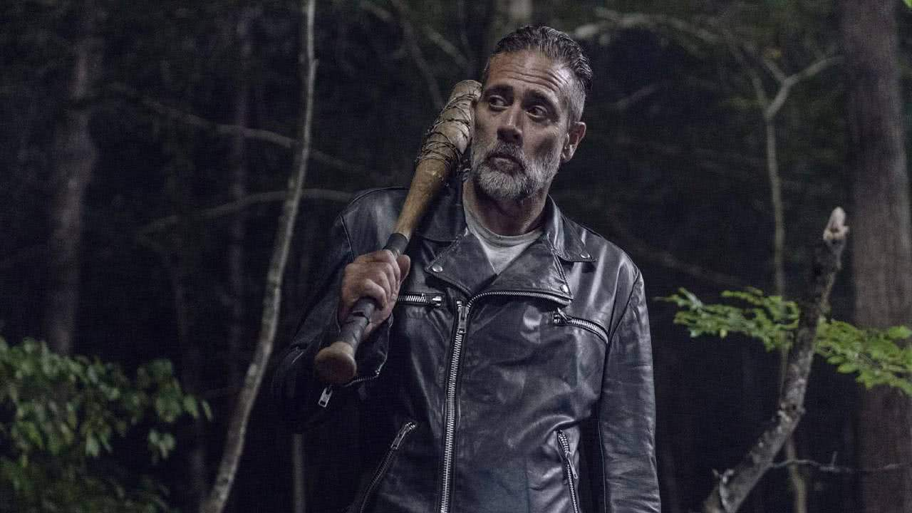 Negan (Jeffrey Dean Morgan) em The Walking Dead