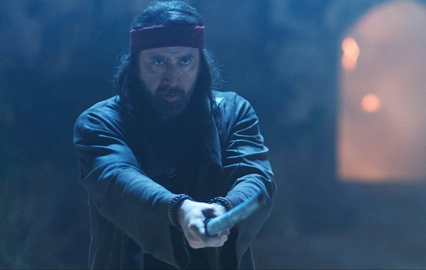 Nicolas Cage em Jiu Jitsu
