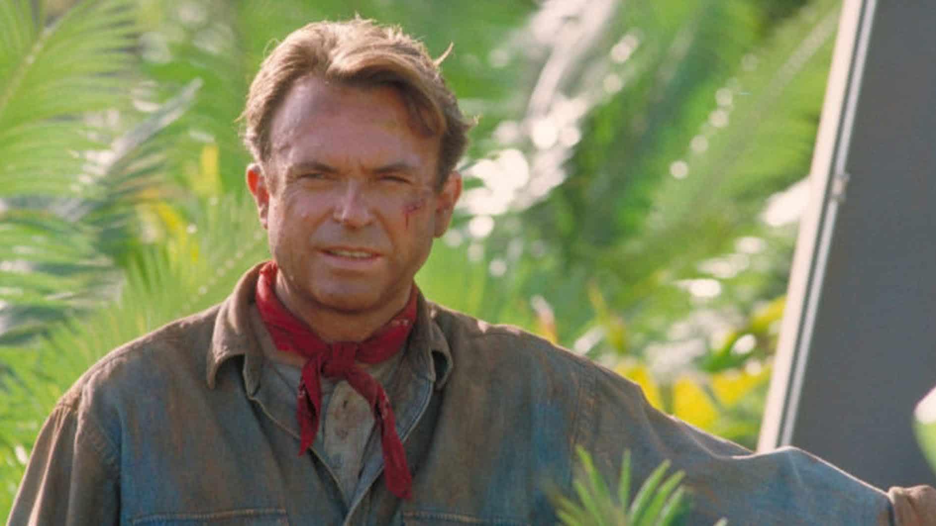 Sam Neill em Jurassic Park