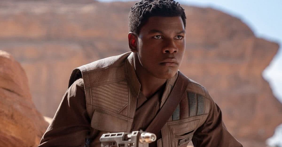 Finn (John Boyega) em Star Wars (Reprodução / LucasFilm)