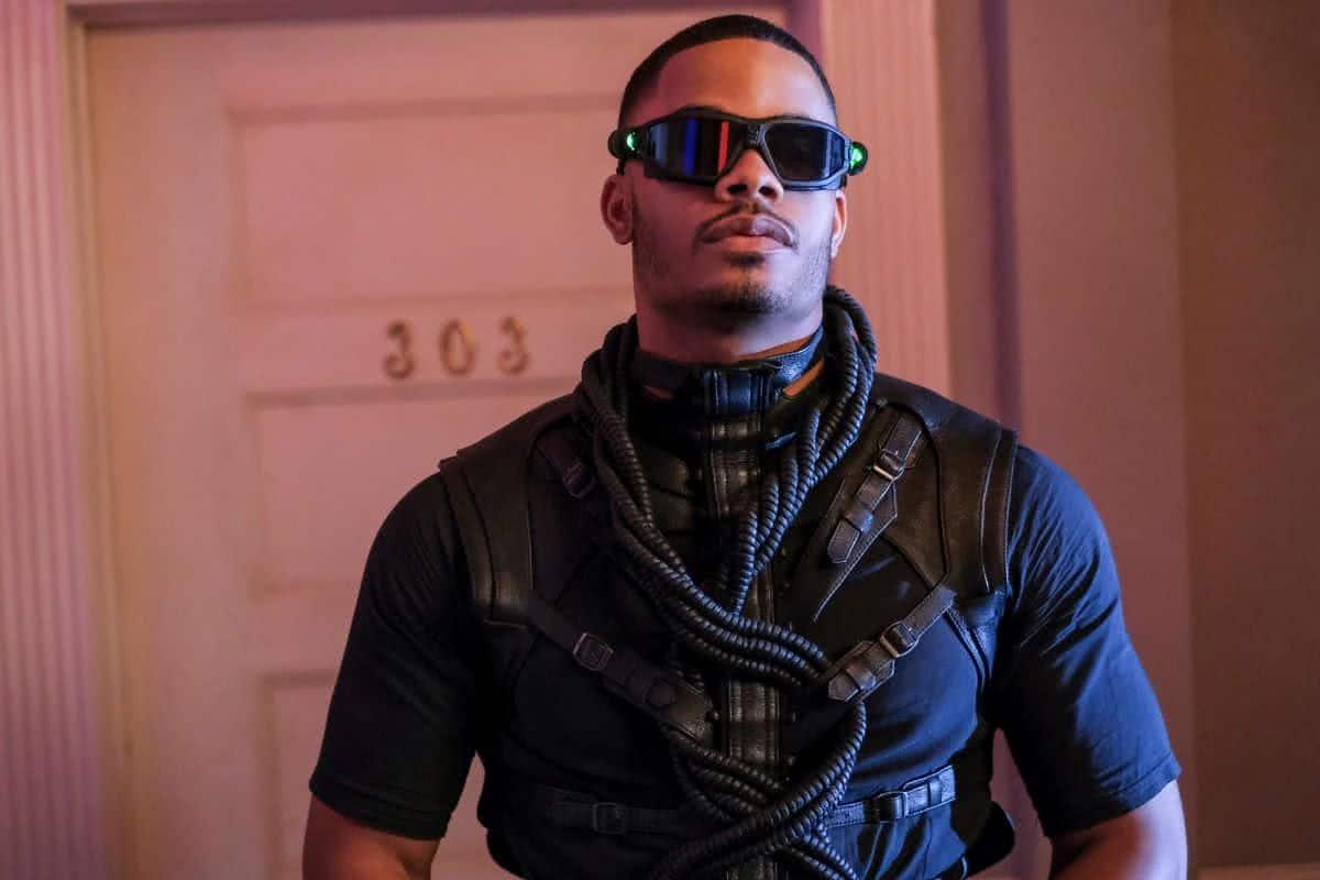 Jordan Calloway como Painkiller em Raio Negro (Divulgação / The CW)