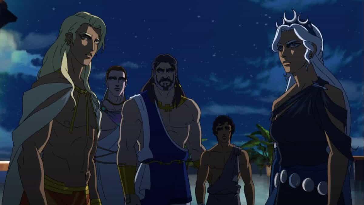 Cena de Blood of Zeus (Reprodução / Netflix)
