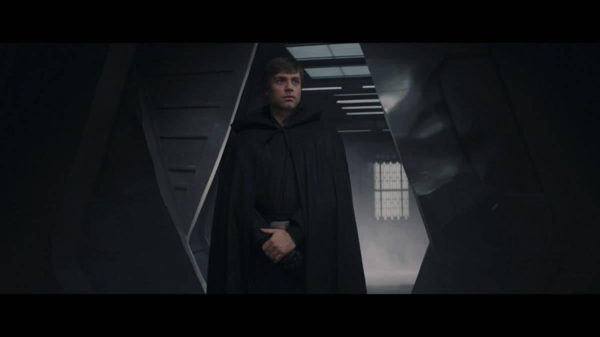 Luke Skywalker em The Mandalorian (Reprodução / LucasFilm)