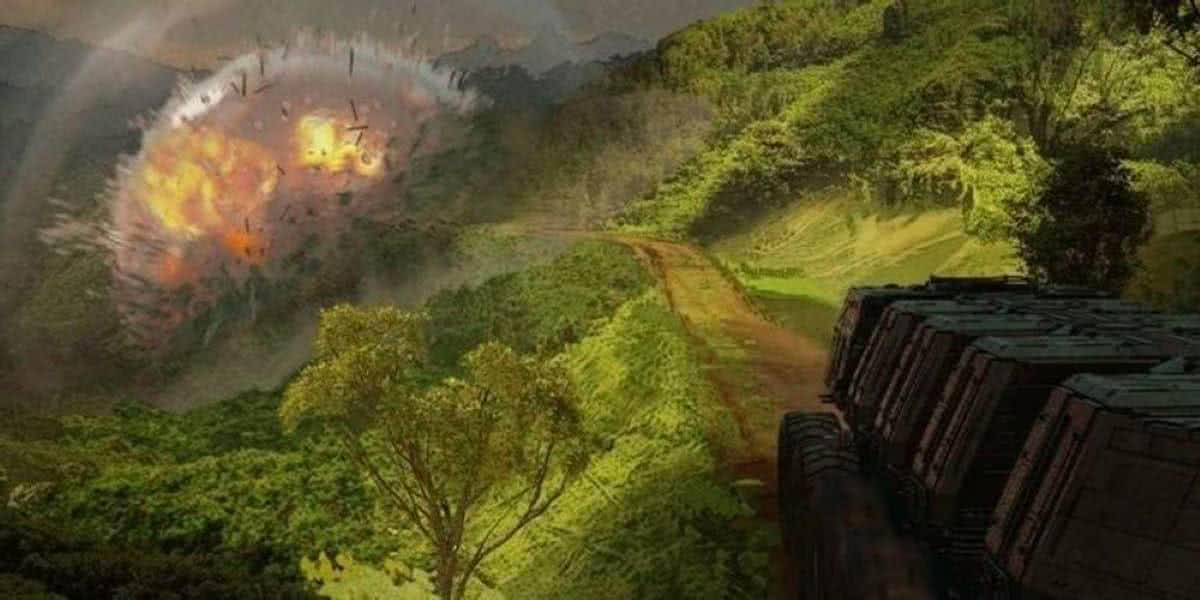 Arte conceitual de Chapter 15: The Believer de The Mandaolorian (Divulgação /LucasFilm)