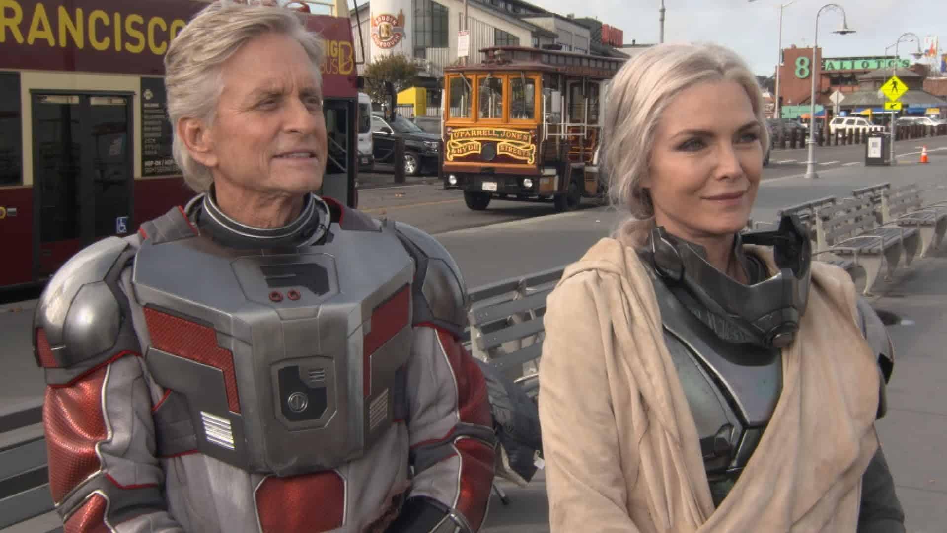 Michael Douglas e Michelle Pfeiffer (Divulgação / Marvel)