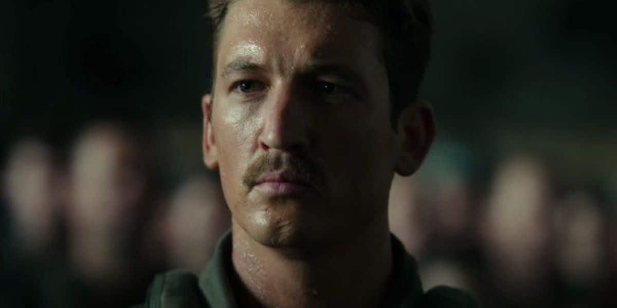 Miles Teller em Top Gun: Maverick (Reprodução)