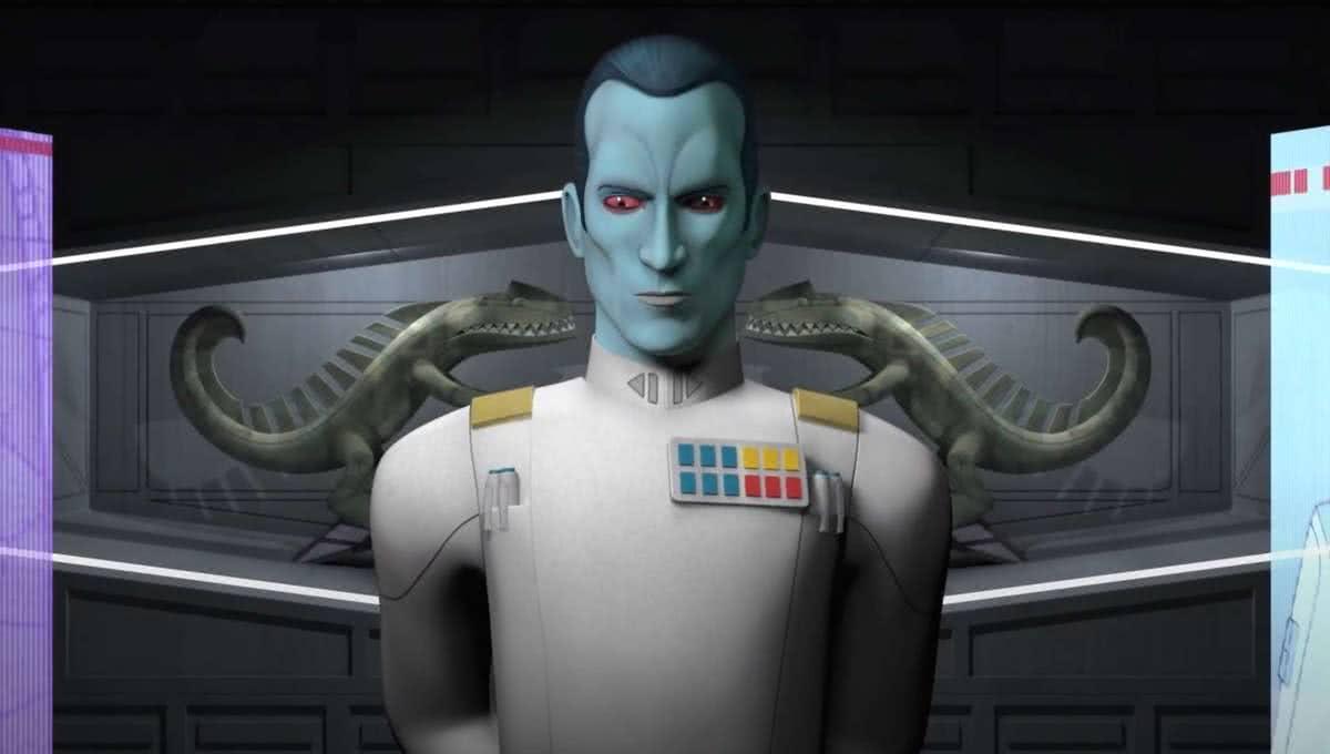Almirante Thrawn pode aparecer em The Mandalorian