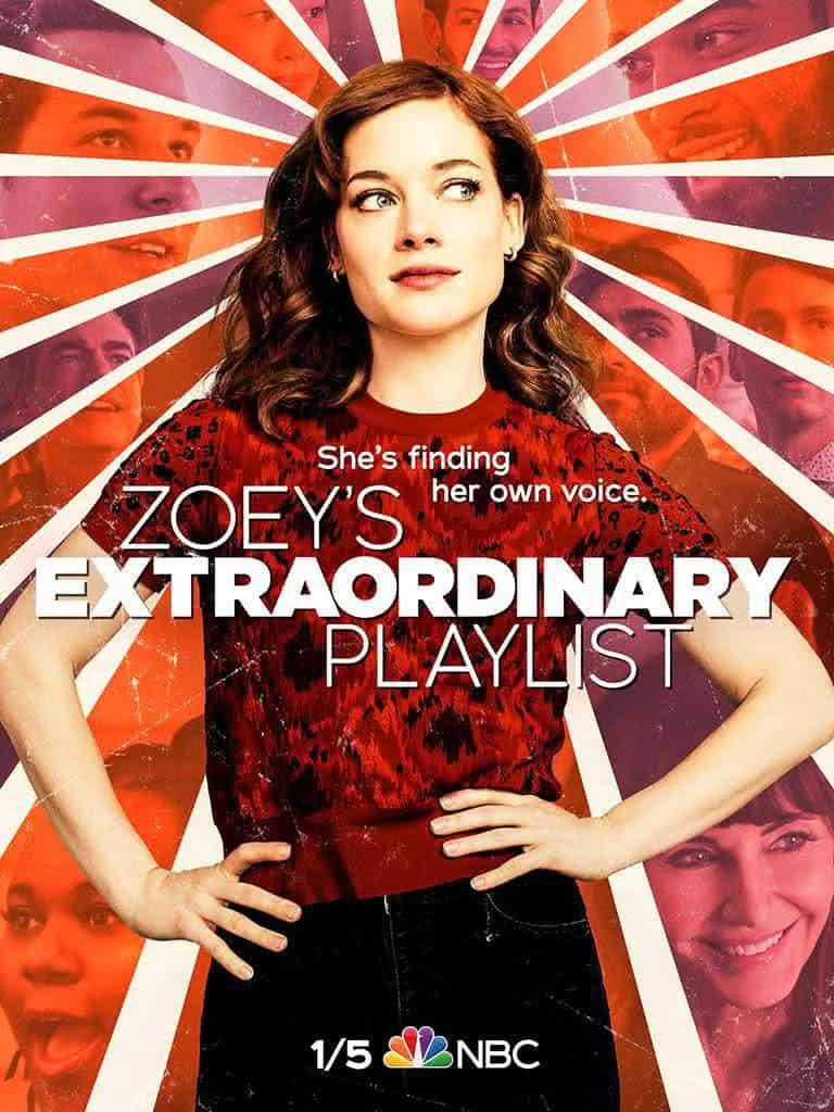 Pôster de Zoey e Sua Fantástica Playlist (Divulgação / NBC)