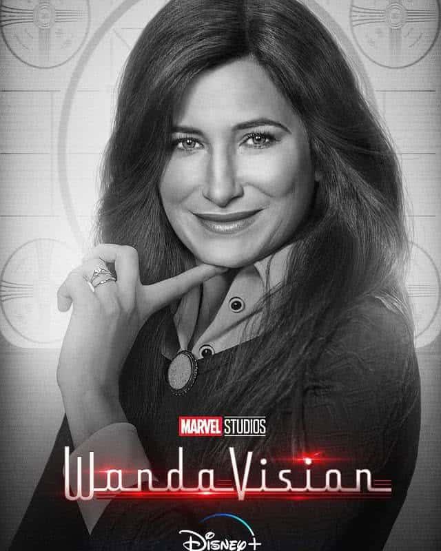 Kathryn Hahn em WandaVision (Divulgação / Marvel / Instagram)