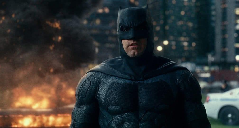 Ben Affleck como Batman em Liga da Justiça