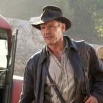 Harrison Ford em Indiana Jones e o Reino da Caveira de Cristal