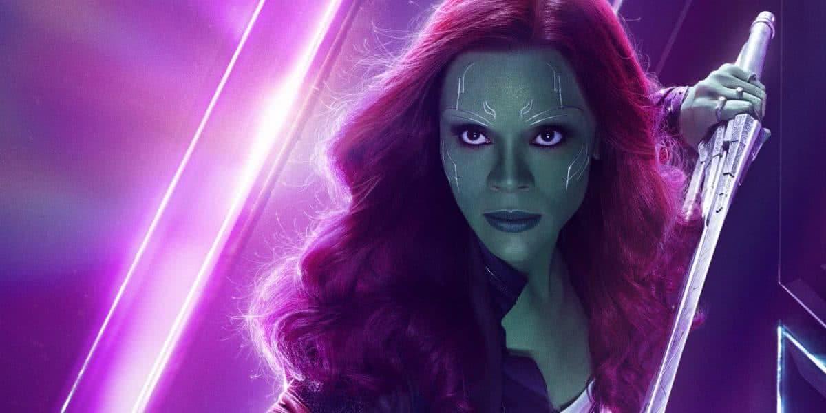 Gamora (Zoë Saldaña) no MCU (Divulgação / Marvel)
