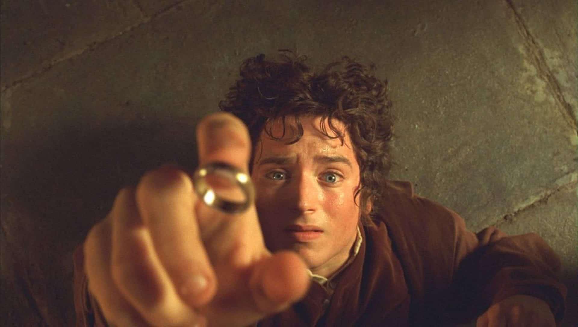 Frodo (Elijah Wood) em O Senhor dos Aneis (Reprodução)