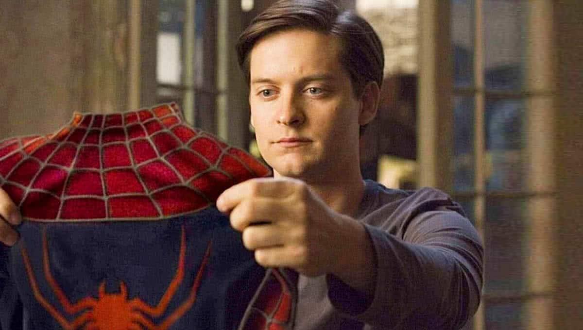 Tobey Maguire em cena de Homem Aranha — Foto: Reprodução