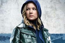 Emily VanCamp como Sharon Carter em Falcão e o Soldado Invernal (Divulgação)