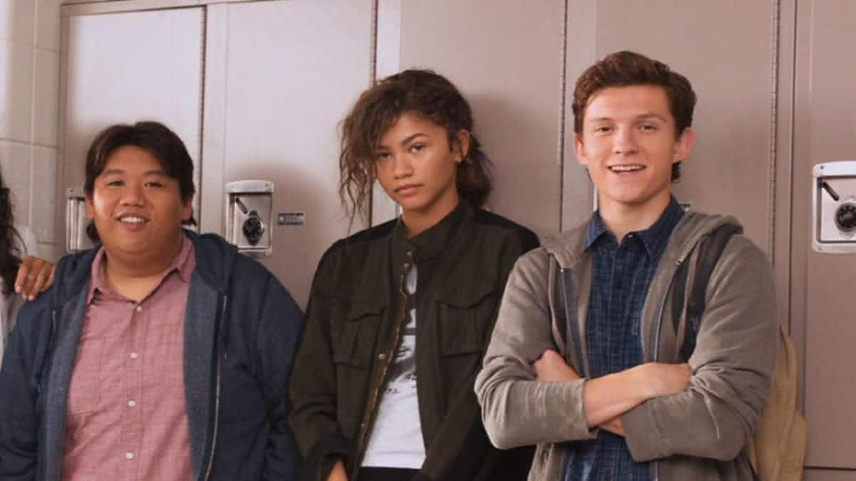 Jacob Batalon, Zendaya e Tom Holland (Divulgação)