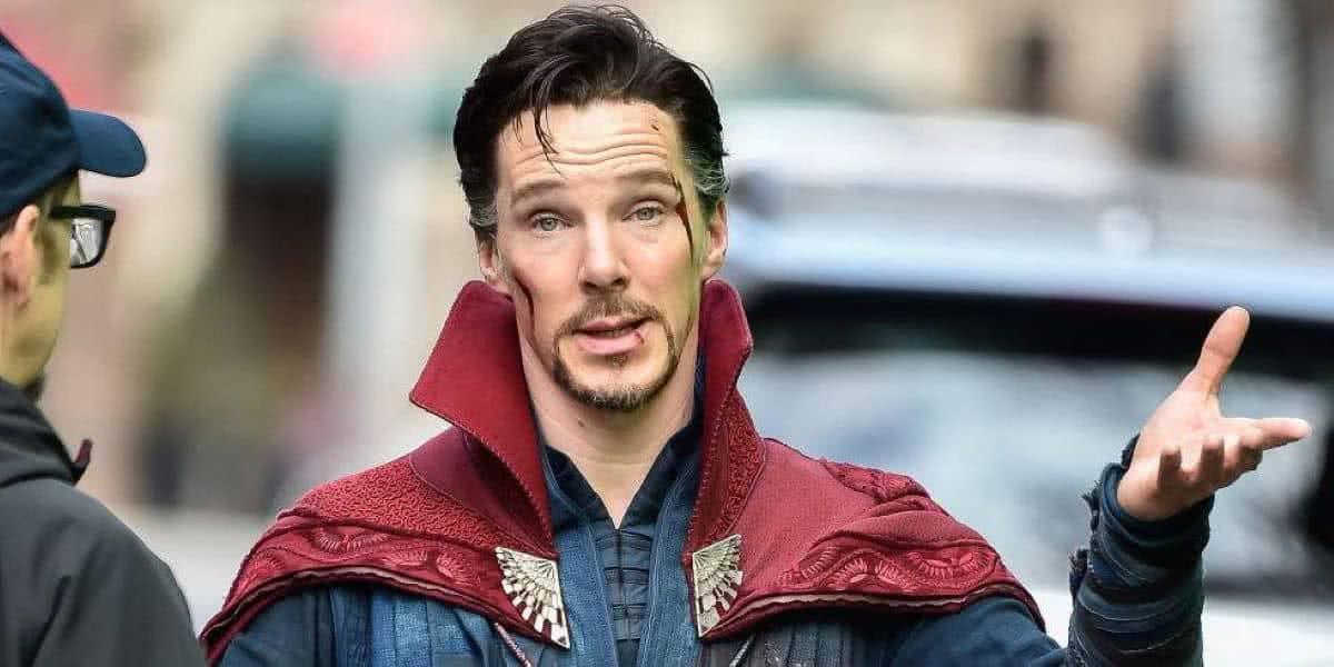 Benedict Cumberbatch como Doutor Estranho (Divulgação / Marvel)
