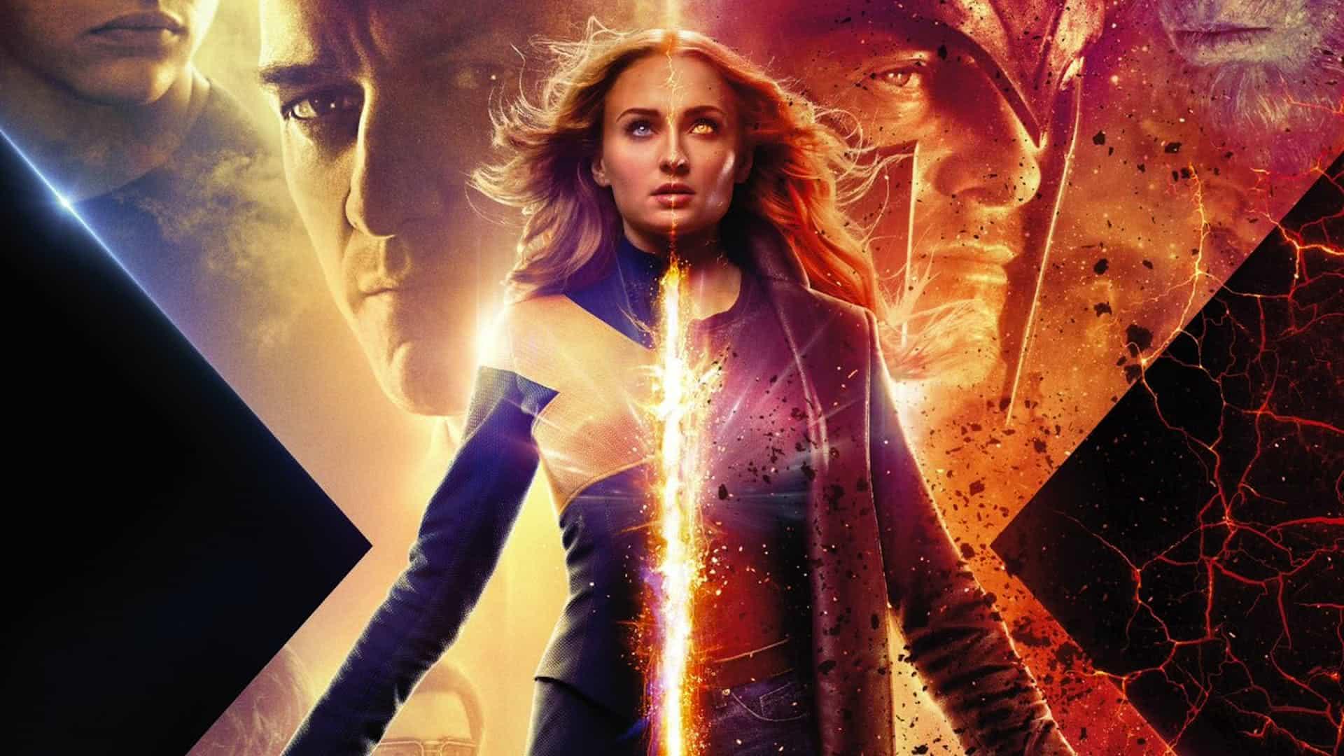 Sophie Turner em X-Men: Fênix Negra (Divulgação)