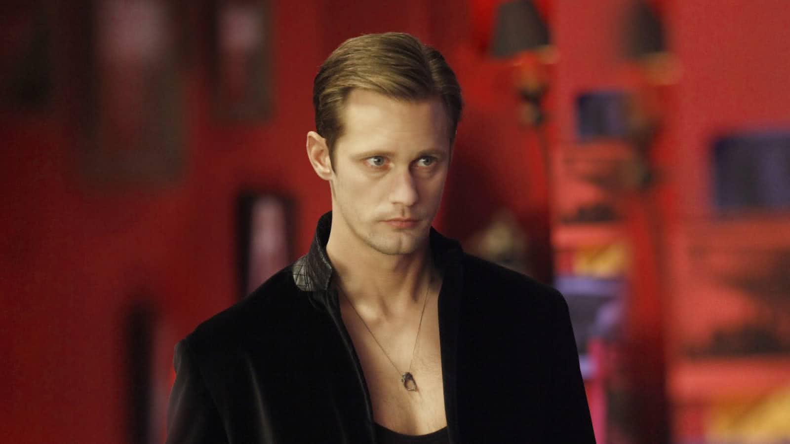 ric (Alexander Skarsgård) em True Blood (Reprodução)