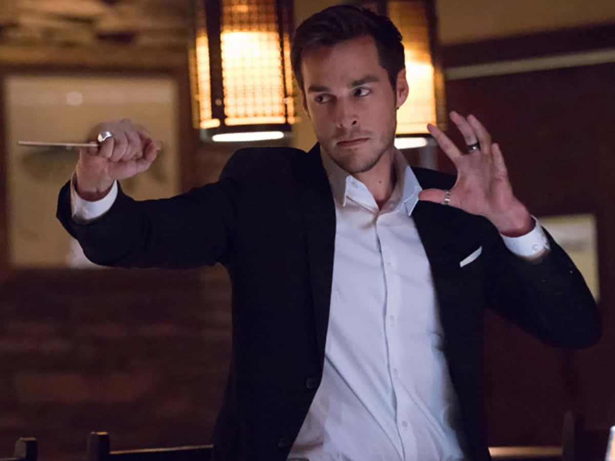 Kai (Chris Wood) em The Vampire Diaries (Reprodução)