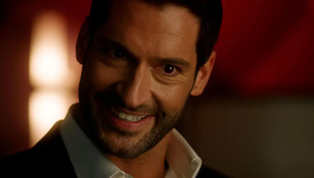 Tom Ellis como Lucifer (Reprodução/ Netflix)