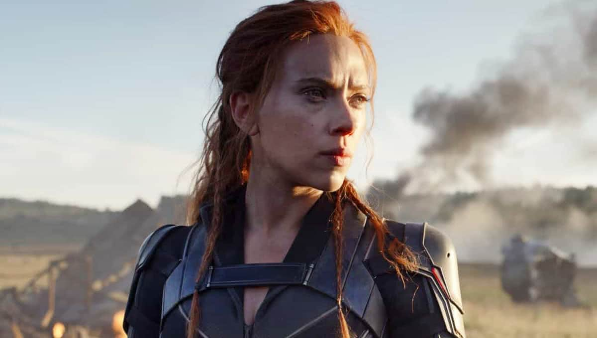 Scarlett Johansson em cena de Viúva Negra (Reprodução / Marvel)