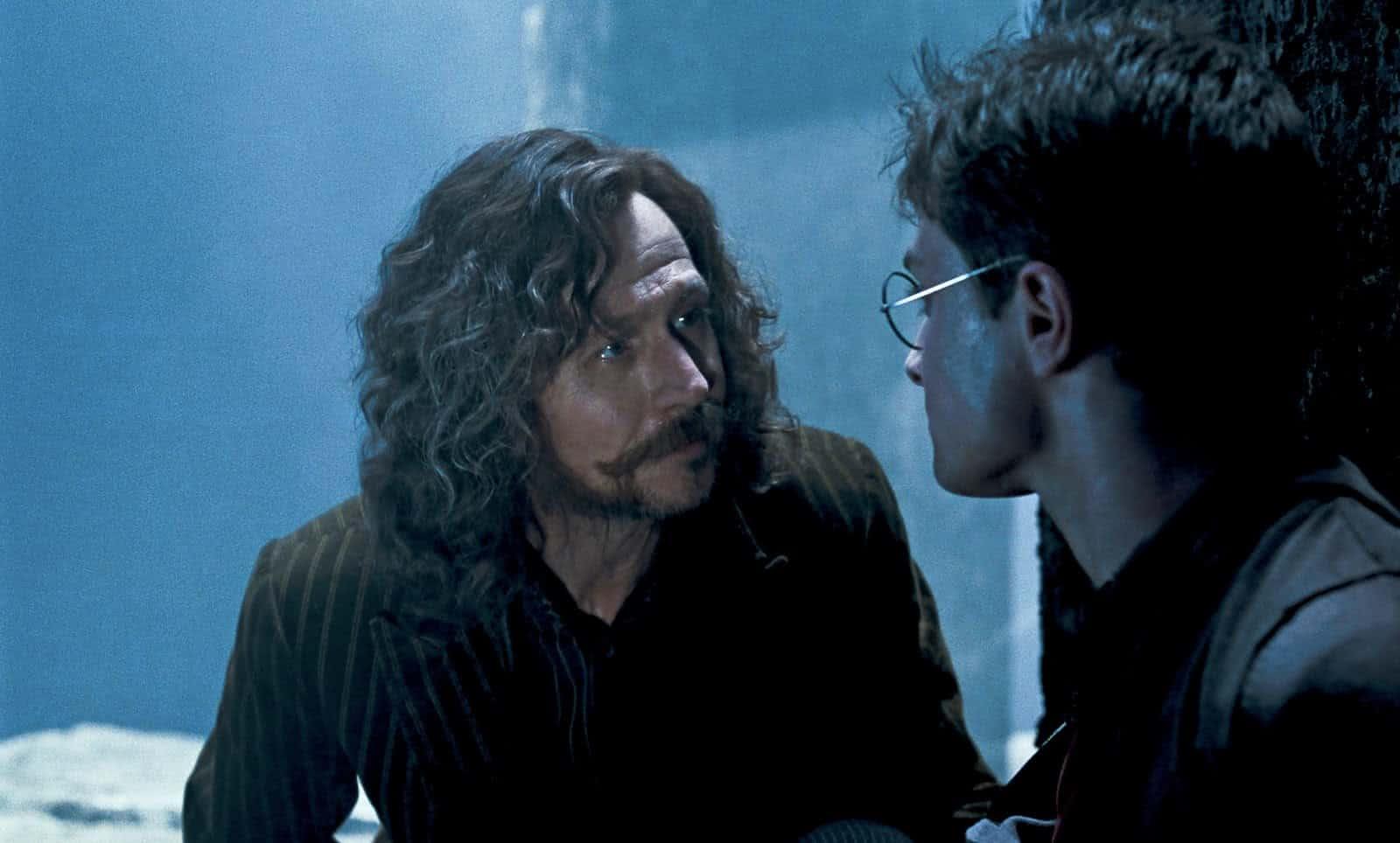 Sirius Black (Gary Oldman) em Harry Potter (Reprodução)