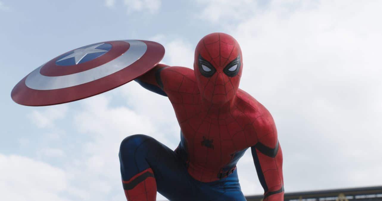 Homem-Aranha (Tom Holland) em Capitão América: Guerra Civil (Reprodução / Marvel)
