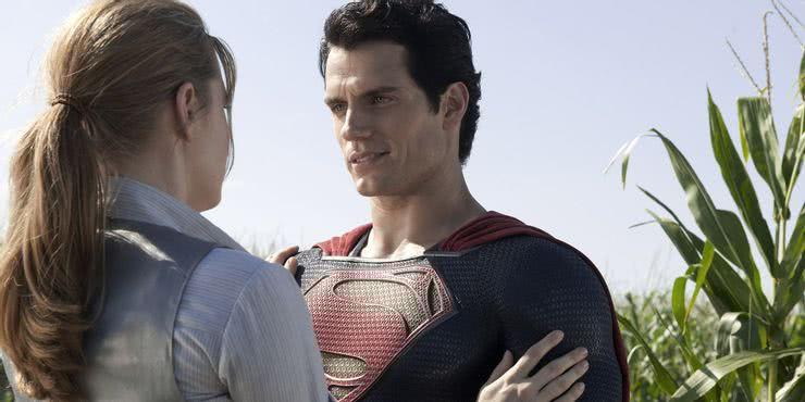 Superman (Henry Cavill) e Lois Lane (Reprodução)