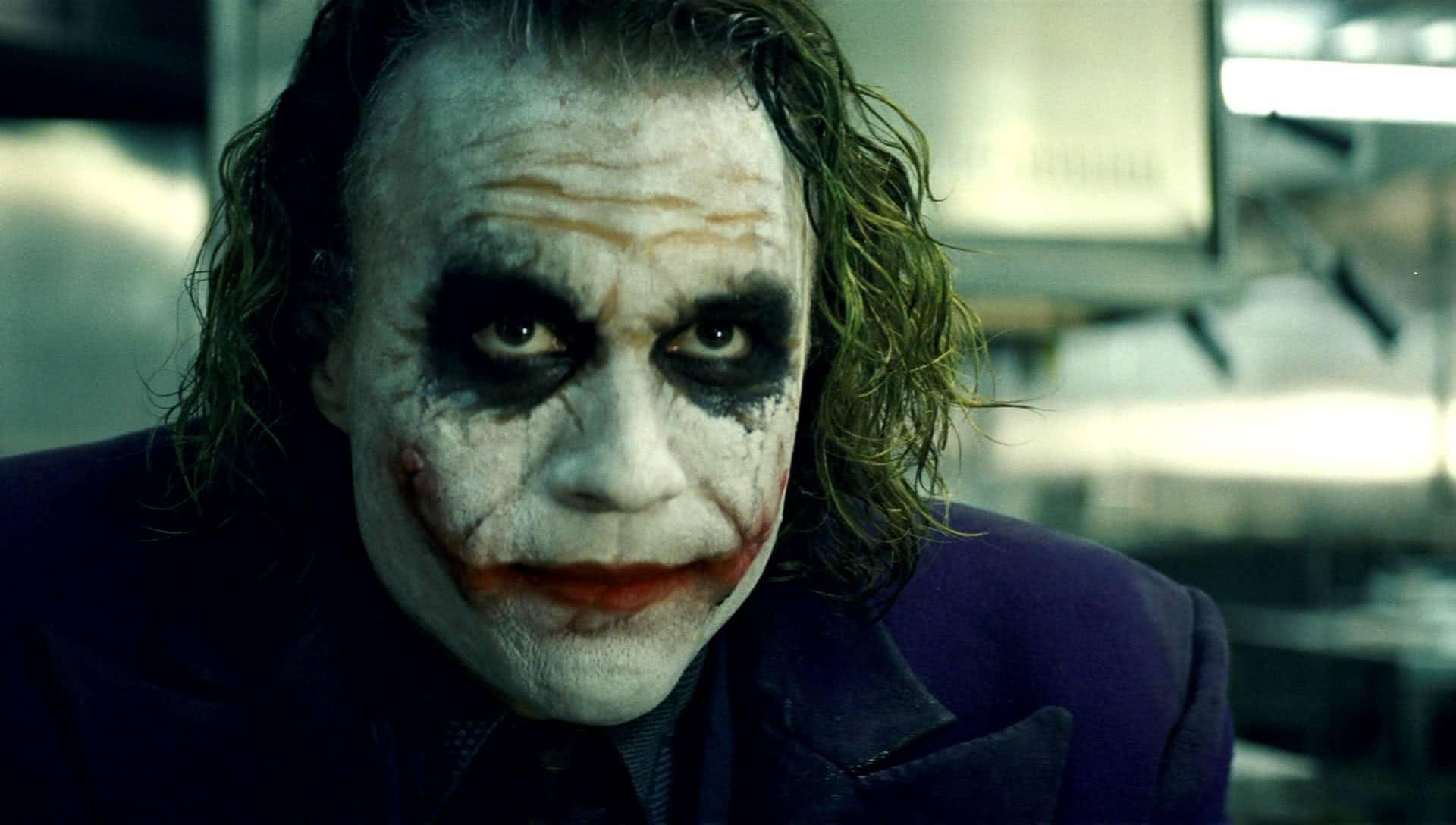 Heath Ledger em Batman: O cavaleiro das Trevas (Reprodução)