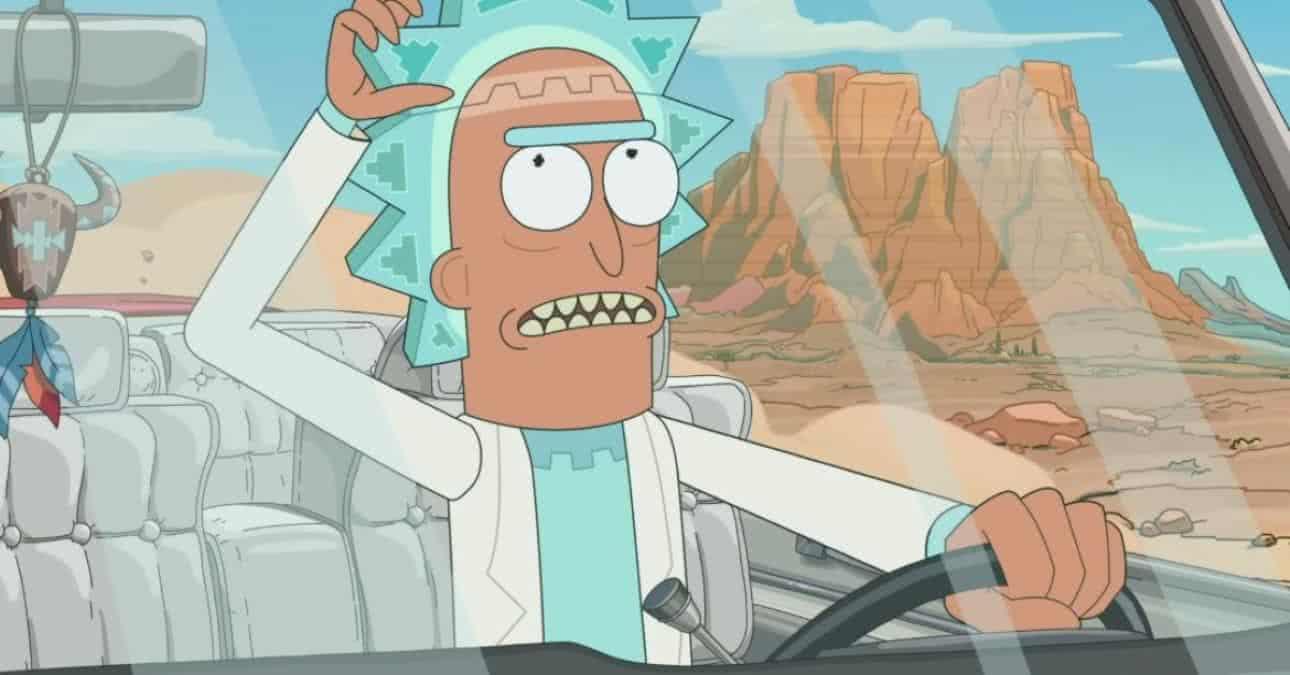 Cena da quinta temporada de Rick and Morty (Reprodução / Adult Swim)