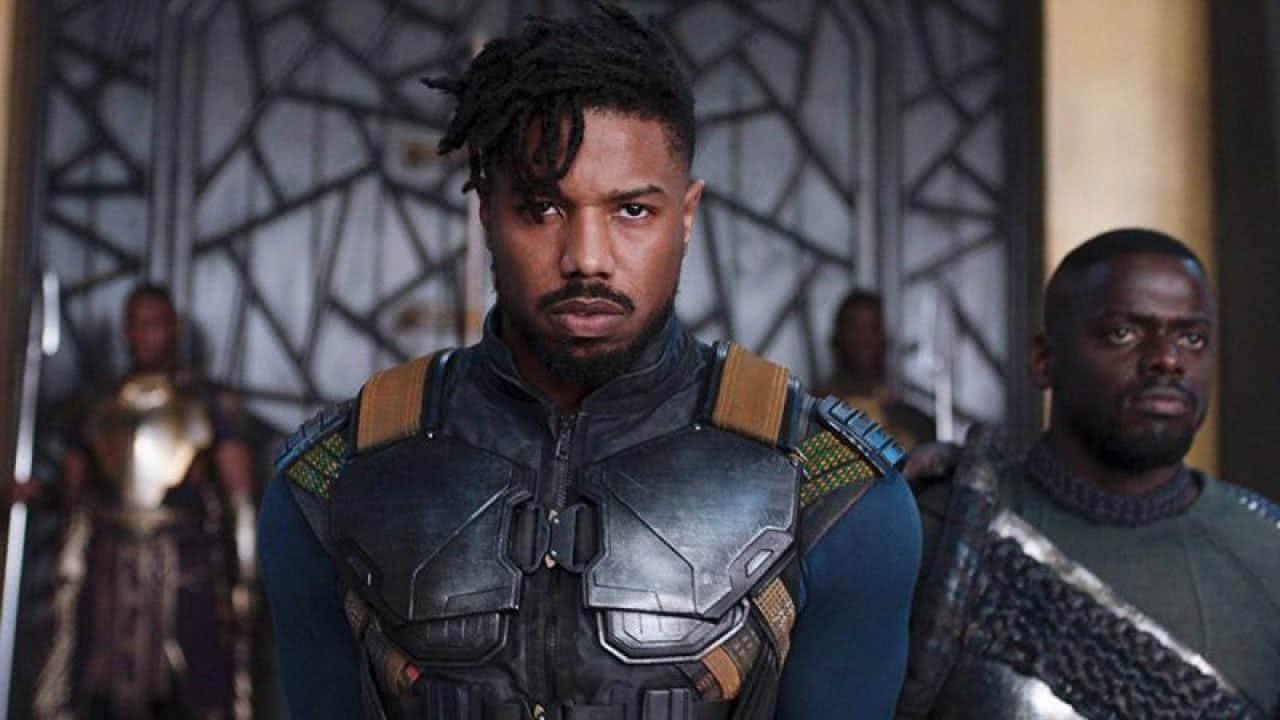 Erik Killmonger (Michael B. Jordan) em Pantera Negra (Reprodução)
