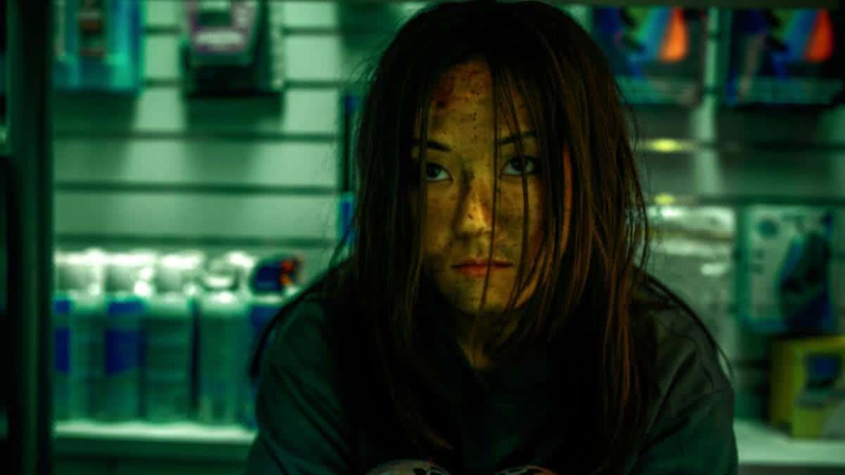 Kimiko (Karen Fukuhara) em The Boys (Reprodução)