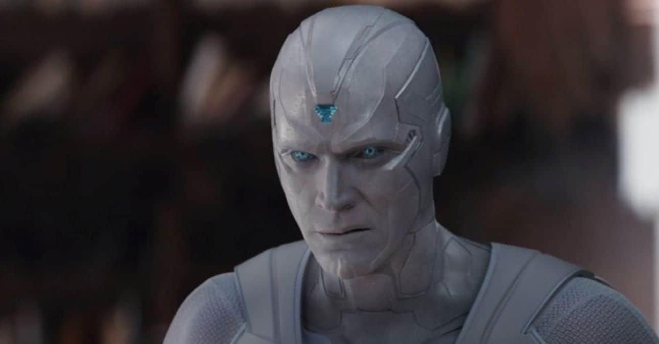 Visão Branco (Paula Bettany) em WandaVision (Reprodução / Marvel)