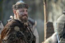 Rei Harald (Peter Franzén) em Vikings (Reprodução)