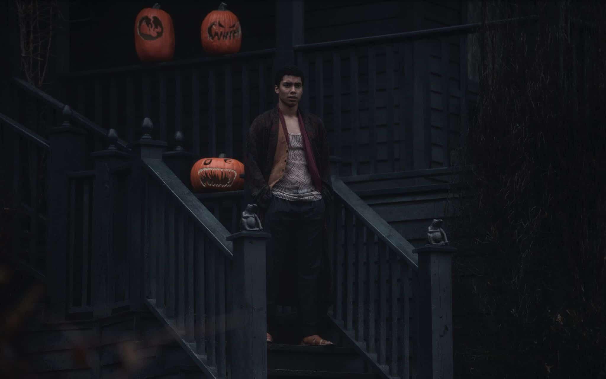 Ambrose (Chance Perdomo) em O Mundo Sombrio de Sabrina (Reprodução)