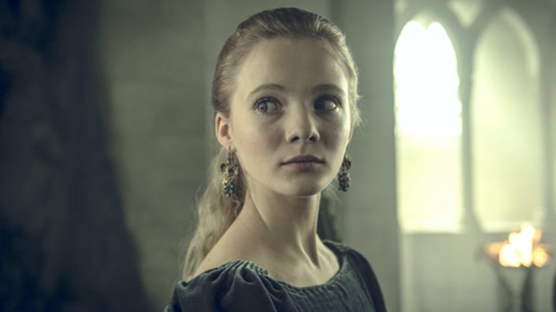 Ciri (Freya Allan) em The Witcher (Reprodução)