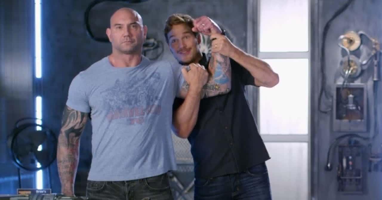 Dave Bautista e Chris Pratt