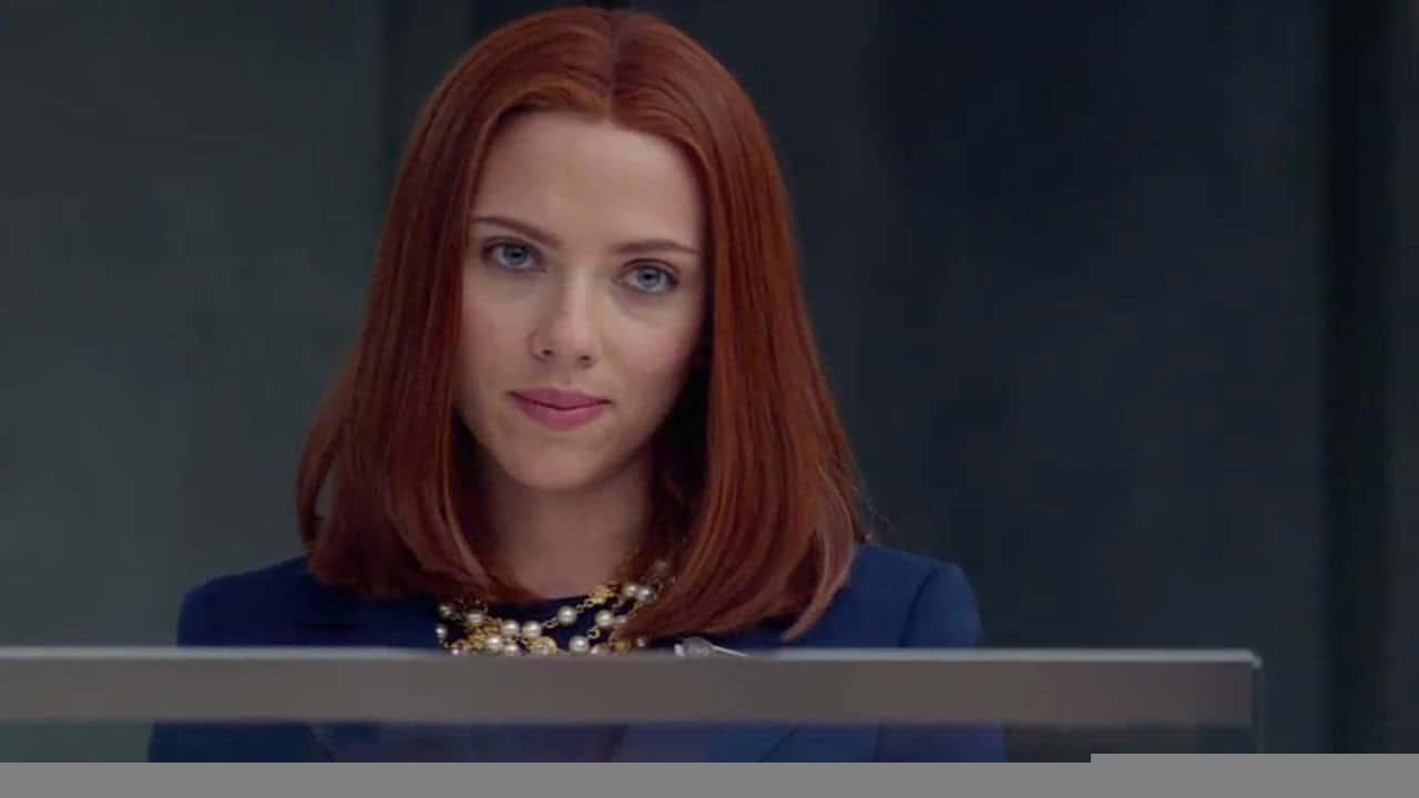Natasha Romanoff (Scarlett Johansson) em Capitão América 2: O Soldado Invernal (Reprodução / Marvel)