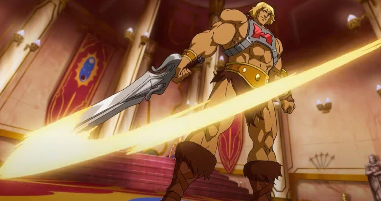 He-Man em Mestres do Universo: Salvando Eternia (Reprodução / Netflix)