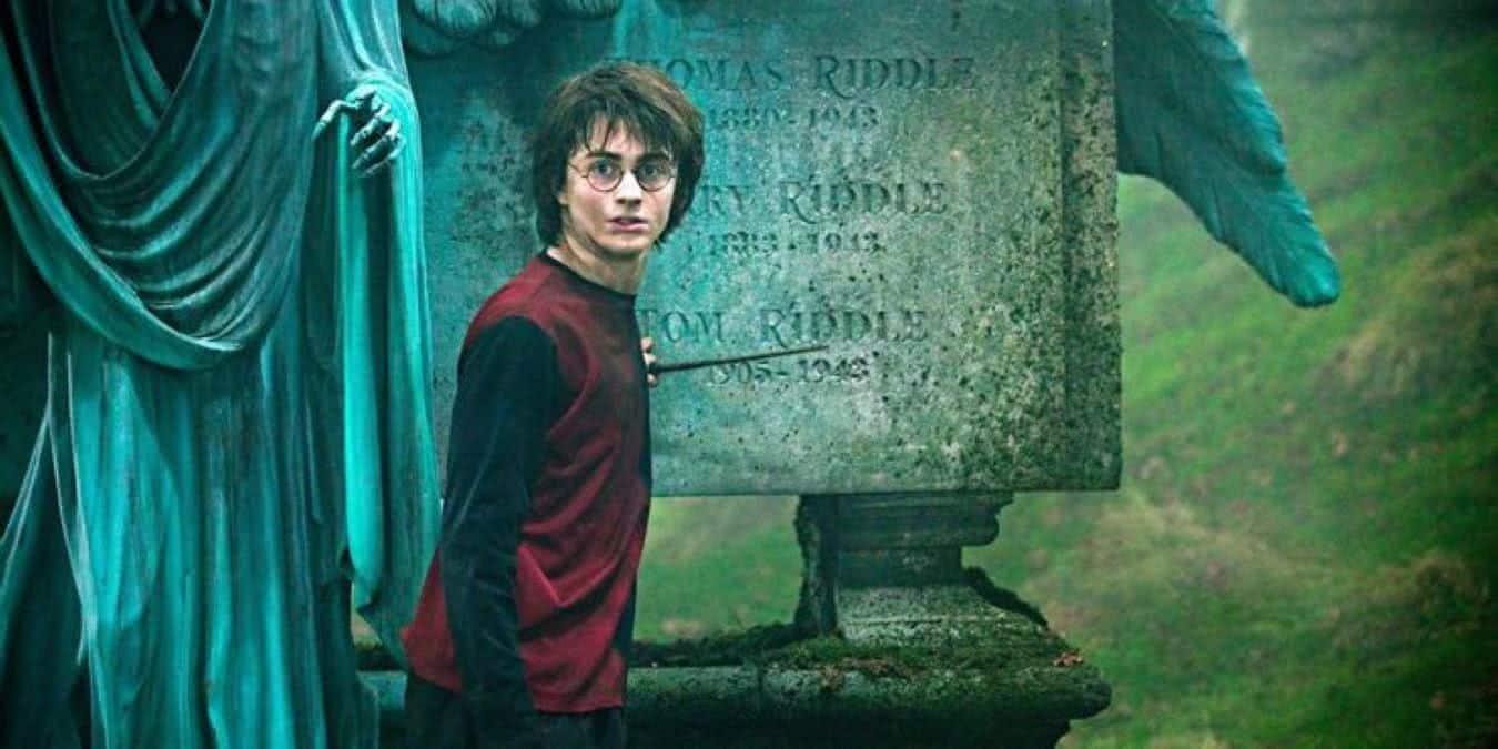 Harry (Daniel Radcliffe) em Harry Potter e o Cálice de Fogo (Reprodução / Warner Bros.)
