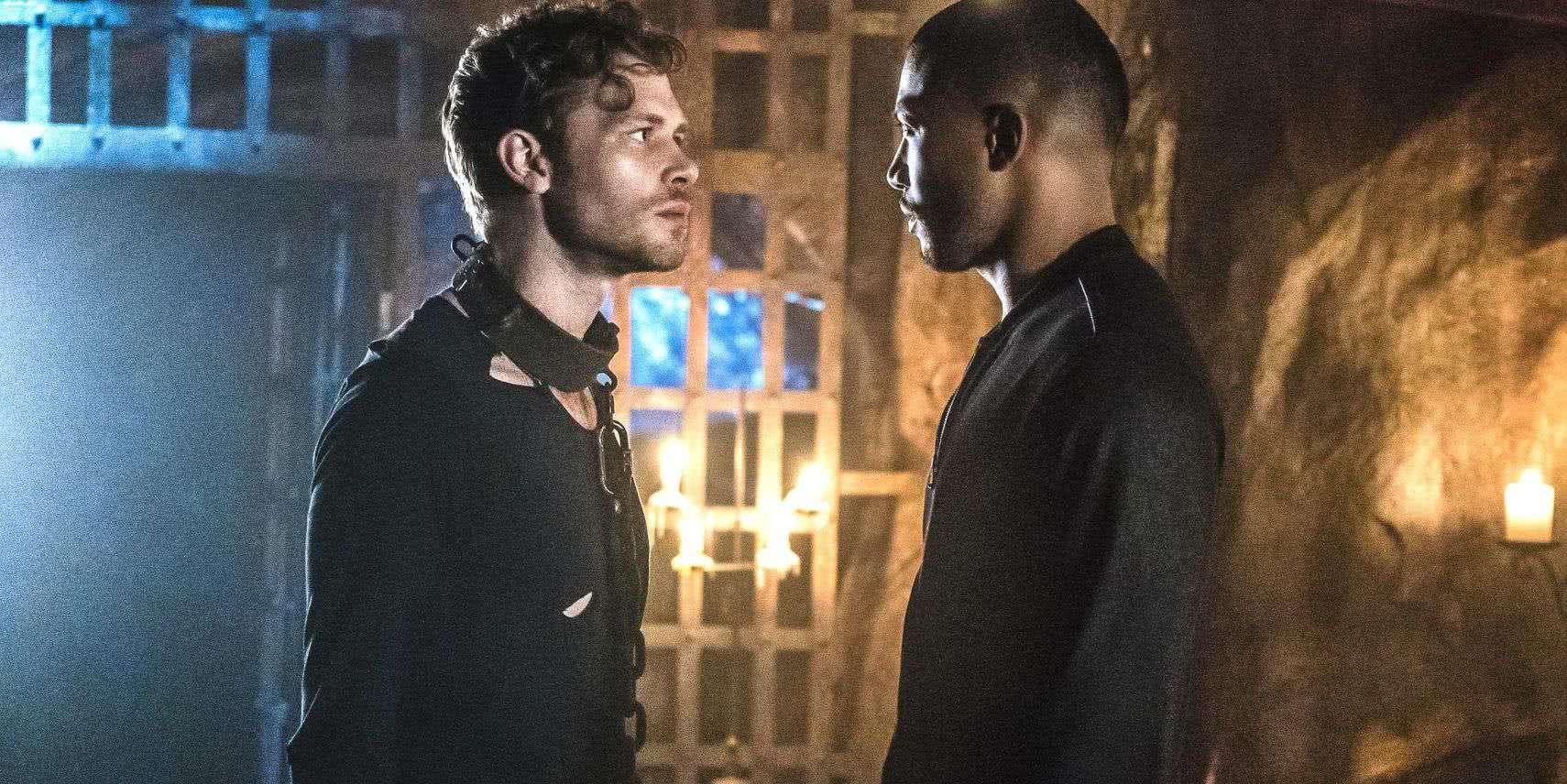 Marcel (Charles Michael Davis) e Klaus (Joseph Morgan) em The Originals (Reprodução)