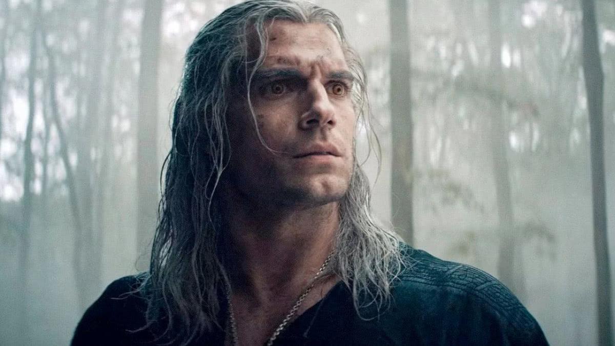Geralt (Henry Cavill) em The Witcher (Reprodução / Netflix)