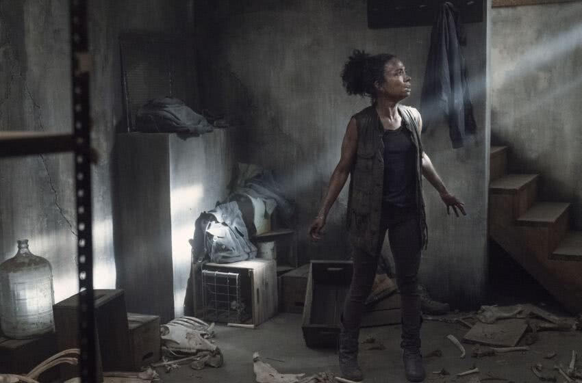 Connie (Lauren Ridloff) em The Walking Dead (2)